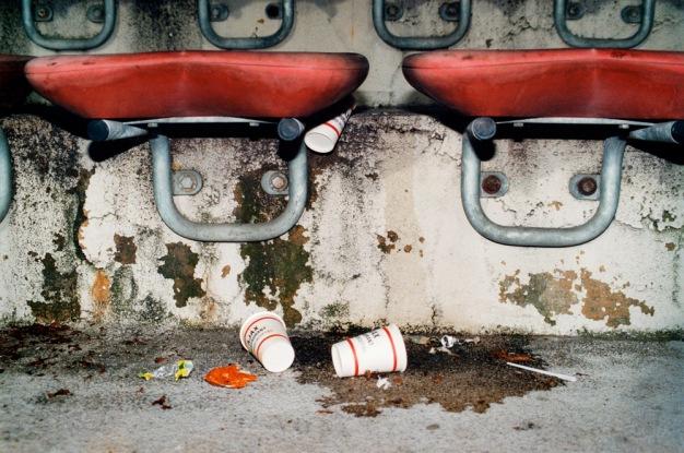 Olympisch Stadion, laatste wedstrijd van Ajax in 1996. (Panathinaikos, 0-1) foto en © Yvonne Witte